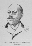 Officers of the League; William Russell Johnson, Secretary