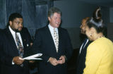 Bill Clinton at the annual meeting of the Southern Christian Leadership Conference (SCLC) in Birmingham, Alabama.