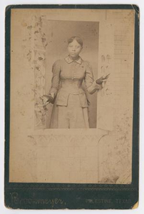 Unknown African American Woman in Window