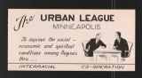 Agencies, 1968-1983. Minneapolis Urban League. General. (Box 217, Folder 7)