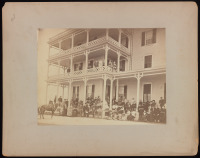 B.F.K. Rives, Women's Suffrage Association Convention, Large elegantly dressed crowd (in Series I)