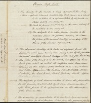 Plan for] Union Miss. Society [manuscript