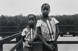 Bernice and Vernice Briddel. Snow Hill, Maryland, August 1979, from the series Southern Roads/City Pavements