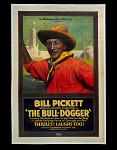 Movie Poster advertising Bill Pickett in The Bull-Dogger