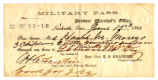 Military Pass for the Morey Family