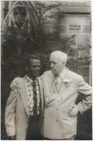 Glenn Carrington and Carl Van Vechten at Yale