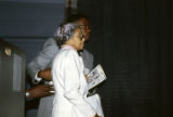 Rosa Parks at the annual meeting of the Southern Christian Leadership Conference (SCLC) in Birmingham, Alabama.