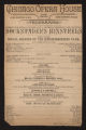 Chicago Opera House, Dockstader's Minstrels (May 5, 1889) Dockstader's Minstrels; Social session of the knickerbocker club; Oxygen; Musical blizzard