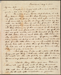 Letter from William Lloyd Garrison, Providence, [R.I.], to Helen Eliza Garrison, May 5, 1836