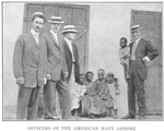 Officers of the American Navy ashore