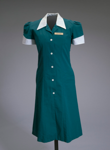 Teal waitress uniform worn by Halle Berry in the film Monster's Ball