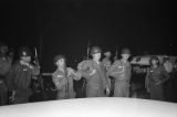National Guardsmen in Montgomery, Alabama, after a riot protesting the Freedom Riders' arrival in the city.