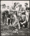 McGuane Park (0002) Events - Holiday celebrations - Mother's Day - Flower planting with Mrs. Eleanor Daley, 1975-05-08