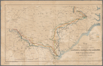 Map showing the routes traversed by each corps of Genl. Sherman's army in the two campaigns of Georgia & the Carolinas