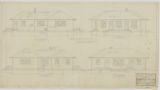 Thumbnail for Belvidere Playgrounds, Shelter House, North, South, East, and West Elevations