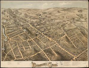 View of Danbury, Conn 1875