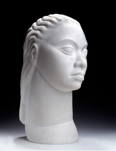 Untitled (Idealized Head of a Woman)