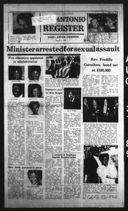 San Antonio Register (San Antonio, Tex.), Vol. 58, No. 21, Ed. 1 Thursday, August 31, 1989 San Antonio Register