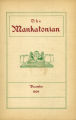 The Mankatonian, Volume 22, Issue 3, December 1909