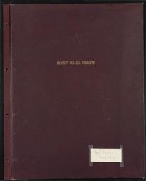 Bennett College Publicity Scrapbook [1965-1972] (Part 1)