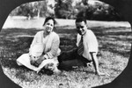 Ralph Bunche with woman