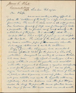 Letter from James C. White, [Cincinnati, Ohio], to Amos Augustus Phelps, 1842 Feb[ruary] 25