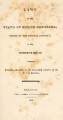Laws of the State of North Carolina, passed by the General Assembly [1848-1849]