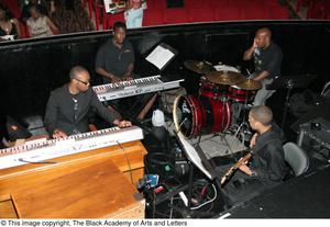 [Band in the Orchestra Pit Area] Hip Hop Broadway: The Musical
