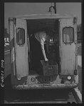 Philadelphia, Pennsylvania. June, 1943. Negro and white women replacing men in civilian occupations in wartime