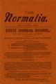 The Normalia, 1897-10