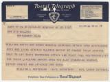 Telegram from International Labor Defense in New York, New York, to Governor B.M. Miller in Montgomery, Alabama.