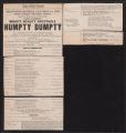 Auditorium Theatre, Humpty Dumpty (October 16, 1905) Humpty Dumpty