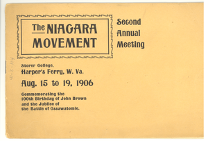 Thumbnail for Niagara Movement Second Annual Meeting program