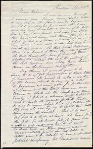Letter from Maria Weston Chapman, Boston, [Mass.], to Deborah Weston, April 18th, [1839]