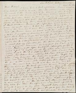 Letter from Anne Warren Weston, New Bedford, [Mass.], to Deborah Weston, Friday Evening. Sept. 30, 1842