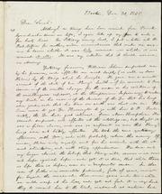 Letter to] Dear Sarah [manuscript