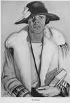 Four portraits of Negro women : The librarian