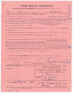 Medical Association Application: Madison Lee Preacher, MD