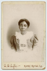 Photograph of an African-American Woman in a Dress