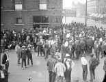 Crowd during the 1919 Chicago Race Riots