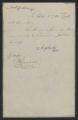 Session of November-December 1796: Senate Messages