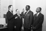 Swearing in of First African-American Deputy Constable