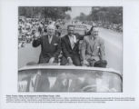 Harry S. Truman, John H. Sengstacke, and Richard J. Daley in the Bud Billiken Parade