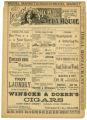 """A Knotty Affair"" theater program, Bijou Opera House, Minneapolis, Minnesota"