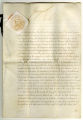 Royal Warrant, May 4, 1818, signed by George IV