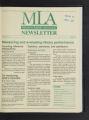 Minnesota Library Association Newsletter, April 1993