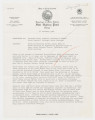 Memorandum to: Governor Terry Sanford, From: C. Raymond Williams, Subject: Visit of Reverend Martin Luther King to North Carolina, December 21, 1962