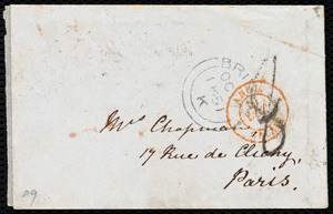 Letter from Mary Anne Estlin, Park Street, [Bristol, England], to Maria Weston Chapman, Oct 17, 1851
