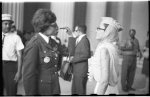 [Josephine Baker and Lena Horne conversing at the March on Washington for Jobs and Freedom]