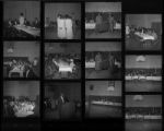 Set of negatives by Clinton Wright including Nevada State Chorus visit in San Francisco bay area, and Madison Neighborhood Council, 1967